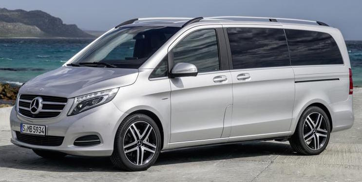 Mercedes Class V Mini Bus | Private Escorted Tours of Ireland