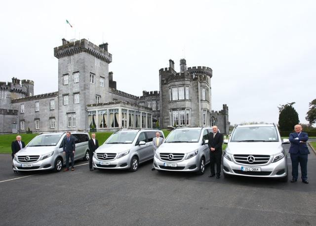 Mercedes V-Class Luxury minibus | Personal Driver Ireland