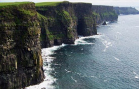Cliffs of Moher Irish tour