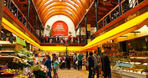 Luxury Tours Ireland featuring the English Market, Cork