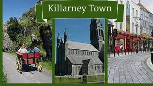 Visit Killarney Town on a customised golf package Ireland