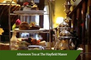 Afternoon Tea at The Hayfield Manor | Deluxe Honeymoon Tours Ireland