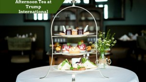 Afternoon Tea at Trump International | Customised Golf Vacation Ireland -Image curtest of www.trumphotelcollection.com