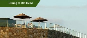 Dining at Old Head | Deluxe Golf Vacations Ireland