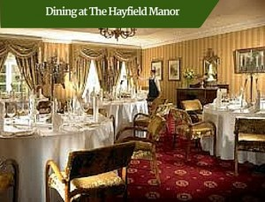Dining at The Hayfield Manor | Deluxe Tour Ireland