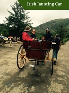 Irish Jaunting Car| Honeymoon Tours of Ireland