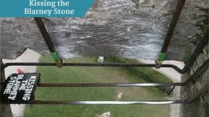 Kissing the Blarney Stone | Private driver customised tours Ireland | Executive Tours Ireland
