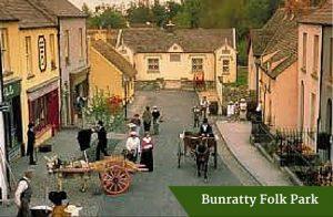 Bunratty Folk Park | Luxury Chauffeur Tours Ireland