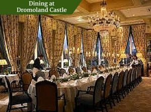 Dining at Dromoland Castle | Chauffeur Tours Ireland