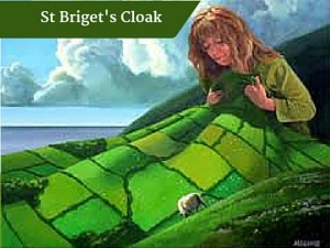 St Briget's Cloak | Deluxe Tours Ireland