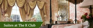 Suites at The K Club | Luxury Chauffeur Vacations Ireland