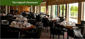 The Ledgends Restaurant | Customized Golf Vacation Ireland