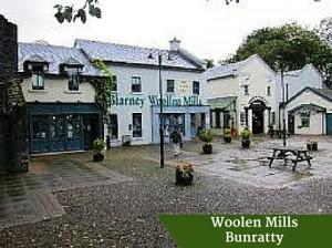 Woolen Mills Bunratty | Deluxe Honeymoon Tours Ireland