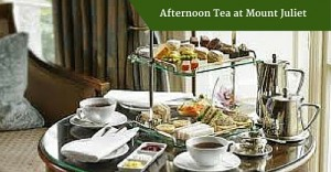 Afternoon Tea at Mount Juliet | Private Driver Ireland