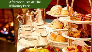 Afternoon tea at the Killarney Park | Deluxe family Friendly Vacations Ireland