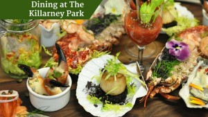 Dining at The Killarney Park | Deluxe Ireland Escorted Tours