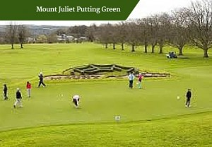 Mount Juliet Putting Green | Deluxe Family Tour Ireland