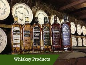 Whiskey Products - Deluxe Discover Ireland Tour