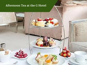 Afternoon Tea at the G Hotel | Luxury Tour Operator Ireland