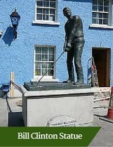 Bill Clinton Statue | Executive Tours Ireland