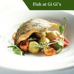 Fish at Gi Gi's | Deluxe Family Tours Ireland