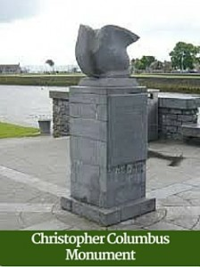 Christopher Columbus Monument | Driver Guided Tours Ireland