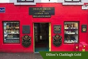 Dillon's Claddagh Gold | Executive Tours Ireland