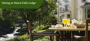 Dining at Sheen Falls Lodge | Deluxe Honeymoon Tours Ireland
