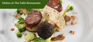 Dishes at The Falls Restaurant | Customized Tours Ireland