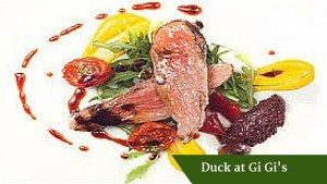 Duck at Gi Gi's | Deluxe Small Group Tours Ireland