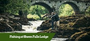 Fishing at Sheen Falls Lodge ? Luxury Small Group Tours of Ireland