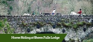 Horse Riding at Sheen Falls ?Luxury Tour Operator