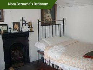 Nora Barnacle's Bedroom | Luxury Chauffeur Tours Ireland