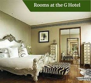 Rooms at the G Hotel | Private Escorted Tours of Ireland