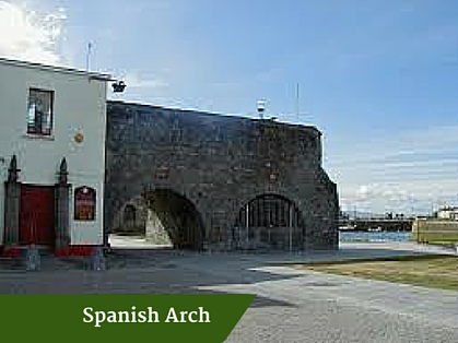 Spanish Arch | Personal Driver Ireland