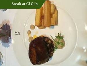 Steak at Gi Gi's | Ireland Private Guided Tours