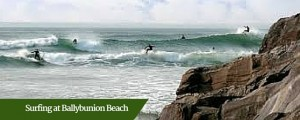 Surfing at Ballybunion Beach   Ireland Driver Guides
