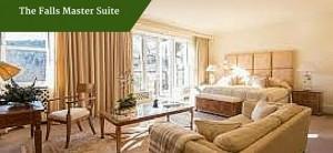 The Falls Master Suite |Ireland Luxury Golf Tours