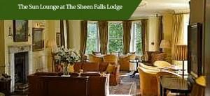 The Sun Lounge at The Sheen Falls Lodge | Chauffeur Tours Ireland