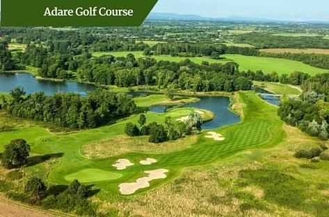 Adare Golf Course   luxury golf tours Ireland