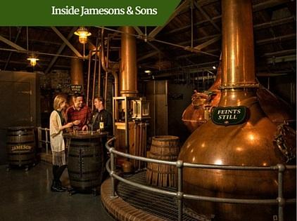 Jamesons Whiskey Tour | Ireland Luxury Tour Operator
