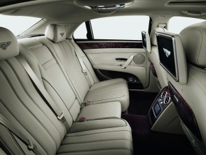 Bentley Flying-Spur-interior | Chauffeur driven wedding cars