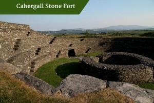 Cahergall Stone Fort |family friendly vacations ireland