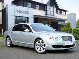 Bentley Flying Spur | luxury wedding cars