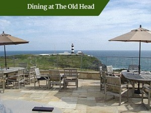 Dining at The Old Head | Deluxe Golf Vacations Ireland