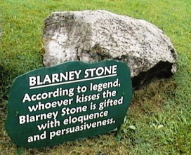Kissing the Blarney stone | Small Group Tours Ireland