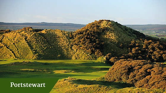 Portstewart | customized golf package ireland