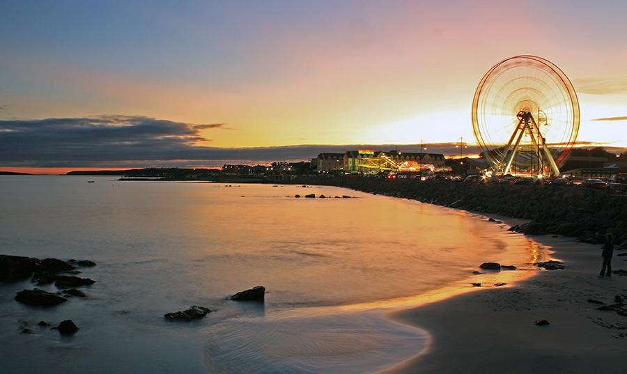Salthill Sunset | Luxury Chauffeur Vacations Ireland