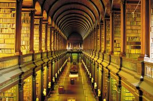 Trinity College long room library | Private Driver Tours of Ireland