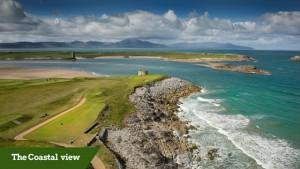 coastal view | customized golf trip ireland